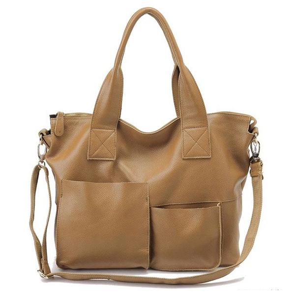 Leather Satchel Bag Plu1099
